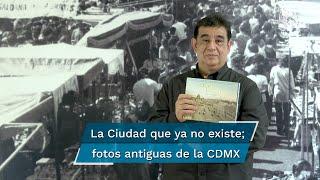 El escritor reúne en su libro La Ciudad que ya no existe fotografías inéditas de lugares que ya desaparecieron