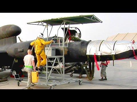U-2 Spy Plane Prep & Takeoff At An Undisclosed Location, Asia.