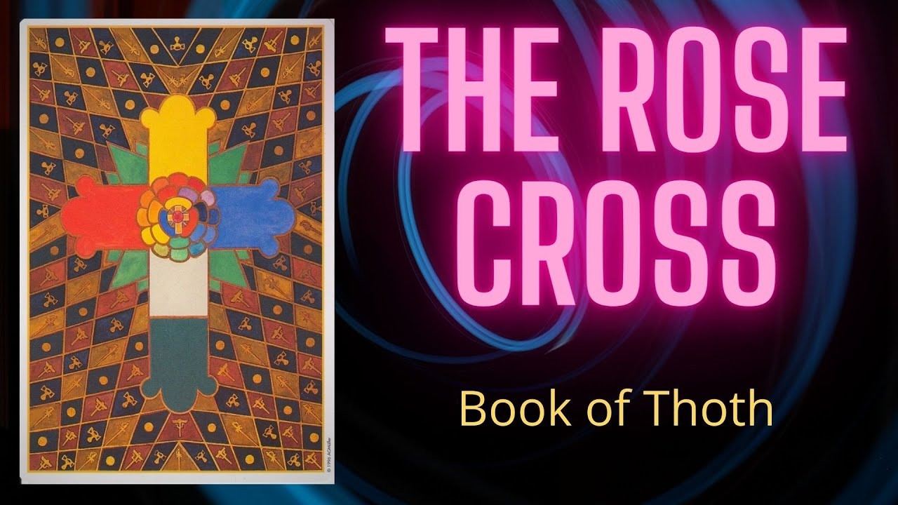 Meaning of the Rose Cross on the back of Thoth Tarot Cards