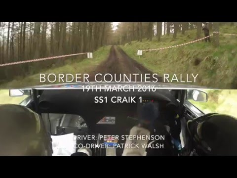 SS1 Border Counties Rally 2016 ABLE UK