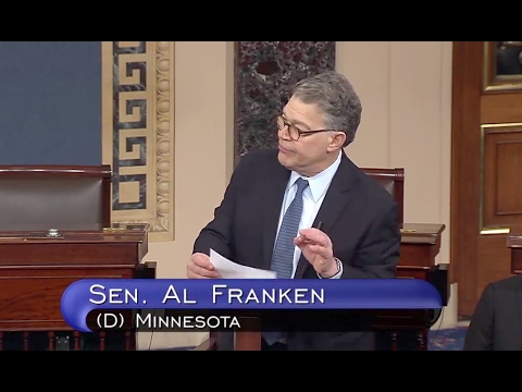 Franken Opposes Betsy DeVos Nomination - Full Senate Floor Speech