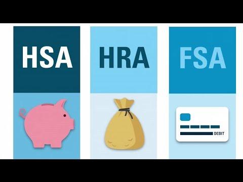 What's an HSA? HRA? FSA?