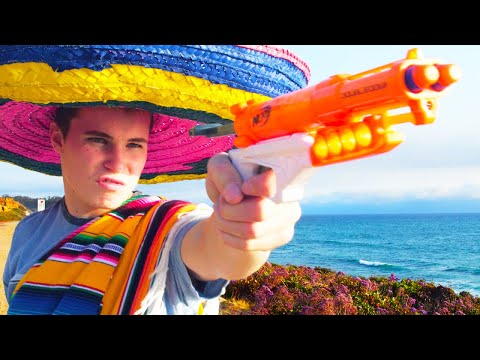 Thumbnail: Nerf War: Burrito Battle