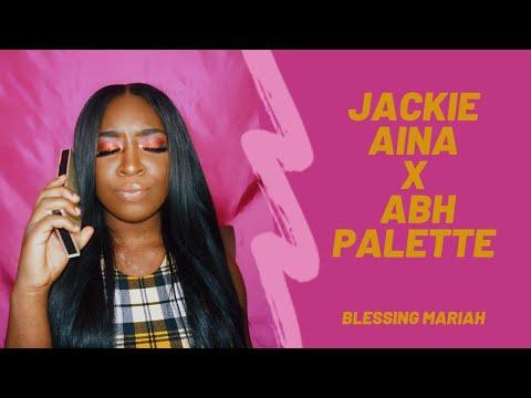 JACKIE AINA X ABH PALETTE | BLESSING MARIAH thumbnail