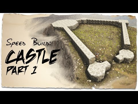 Building a Castle: Part 1 - Uneven Ground | ARK: Survival Evolved | Base Design