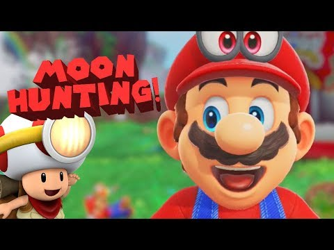 CAN WE FIND ALL THE MOONS?? - Super Mario Odyssey
