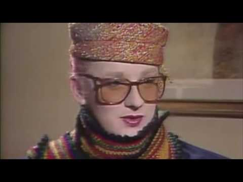 Boy George and Culture Club's Jon Moss, interview and performance
