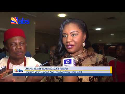 Zik Prize Award: Obiano Optimistic Wife Will Deliver More On Humanitarian Service