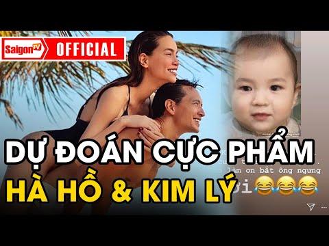 Hồ Ngọc Hà Và Kim Lý 'TÉ NGỬA' Khi Thấy ảnh 'Em Bé Song Thai' Do Fan Dự đoán