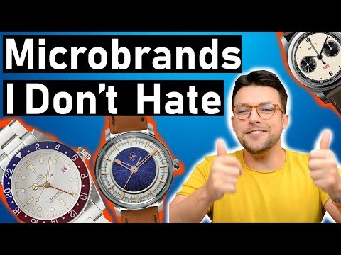 ⌚ 5 Watch Microbrands I Don't Hate