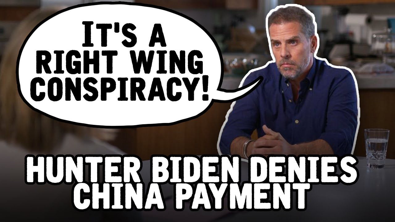 Hunter Biden denies 1.5 BILLION DOLLAR payment from China in ABC ...