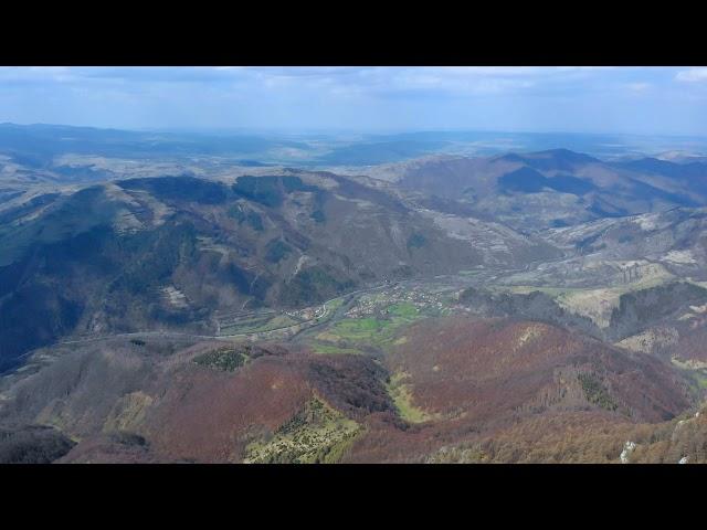 Belvedere de pe vârful Ugerului