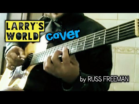 Larry's World by Russ Freeman - cover by Auckhs Enjaynes