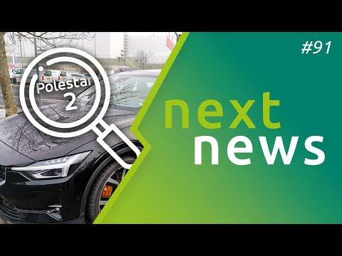 nextnews #91 - Polestar 2 gesichtet, ID.3 Preise! & Konfigurator, BAFA-Insider, Tesla Aktienrekord