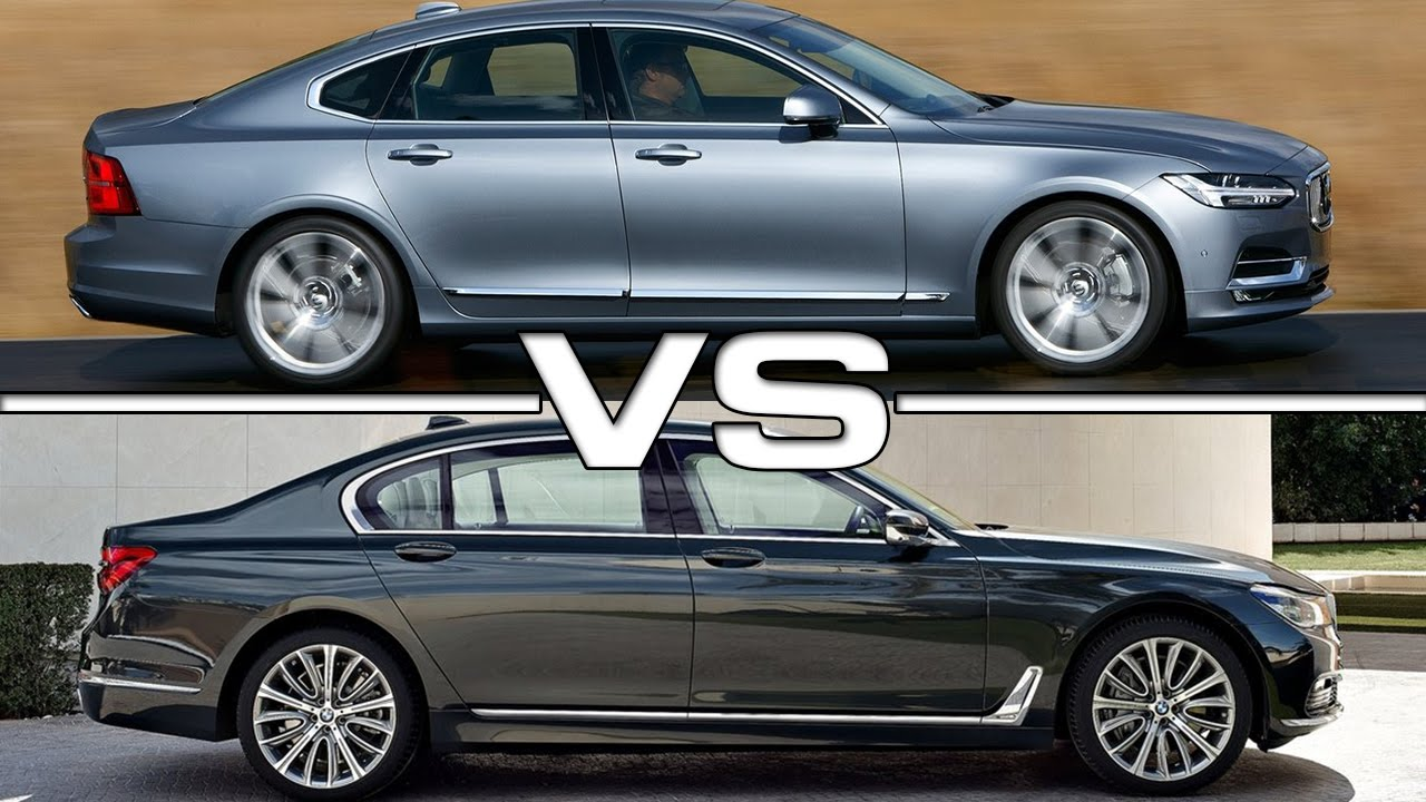 Volvo S90 Vs Bmw 7 Series Youtube