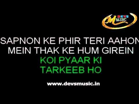 Abhi kuch dino se karaoke Dil to bachha hai ji www.devsmusic.in Devs Music Academy