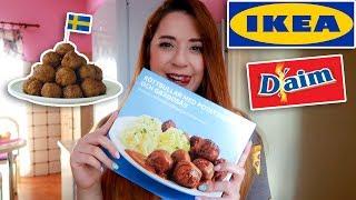 Τρώω μόνο έτοιμα φαγητά από τα ΙΚΕΑ για 24 ώρες | Miss Madden