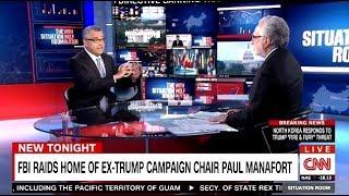 FBI Raids Home Of EX-TRUMP Campaign Chair MANAFORT (CNN)