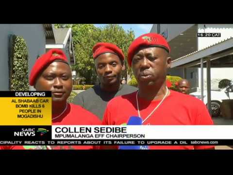 Collen Sedibe re-elected as Mpumalanga EFF provincial chairperson