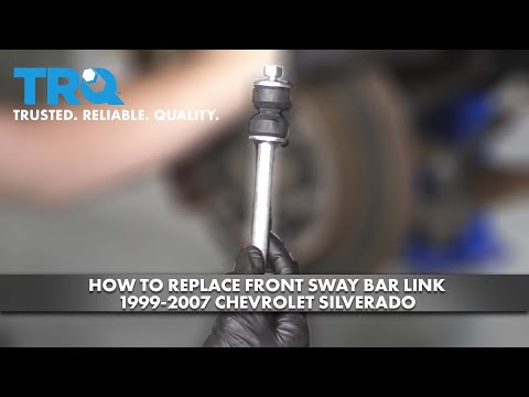 How to Replace Front Sway Bar Links 1999-07 Chevy Silverado
