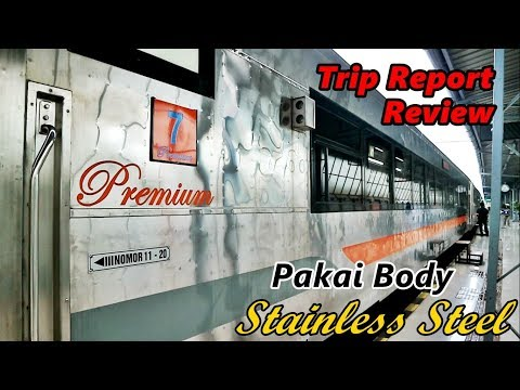 Review&Trip Report | Kereta Api Masa Depan Indonesia, Ekonomi Premium Stainless Steel