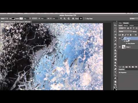 Quick Tip - Displaying a Photograph within a Shape in Photoshop