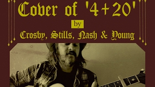 Cover of '4+20' by Crosby, Stills, Nash & Young...