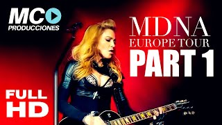 Download Madonna intro + Girl Gone Wild (NEW VERSION) MDNA Tour EUROPE Bluray Mp3 and Videos
