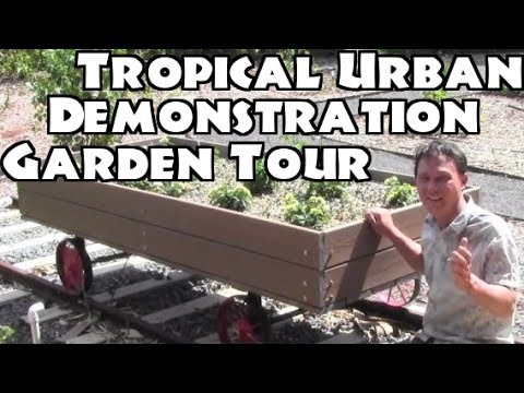 Tropical Urban Demonstration Garden Tour in Hawaii