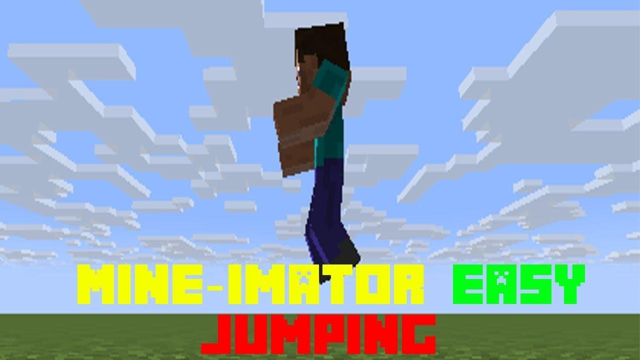 Mine Imator Jumping Tutorial