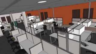 Kentwood Office Furniture Design & Space Planning: Flythrough