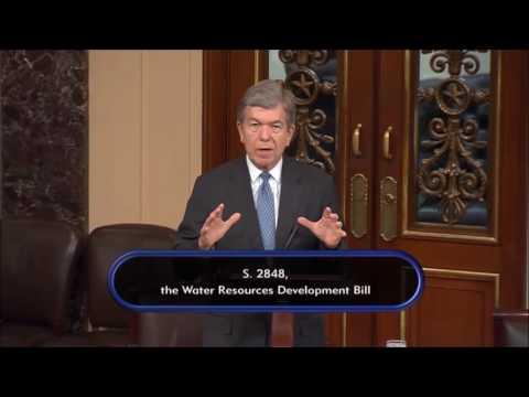 Blunt Highlights Missouri Priorities in Water Resources Bill 9/15/16