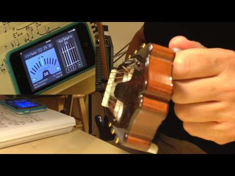 How to tune a guitar with VITALtuner