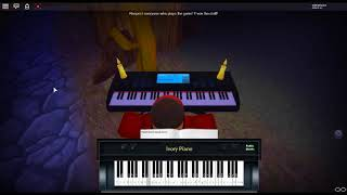 Niko and the World Machine - OneShot di: NightMargin su un pianoforte ROBLOX.