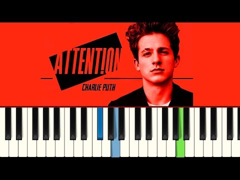 💎Charlie Puth - Attention - Piano tutorial - Master Teclas💎