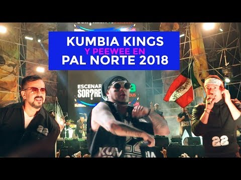 Kumbia Kings y PeeWee escenario sorpresa Pal Norte #TecatePalNorte18