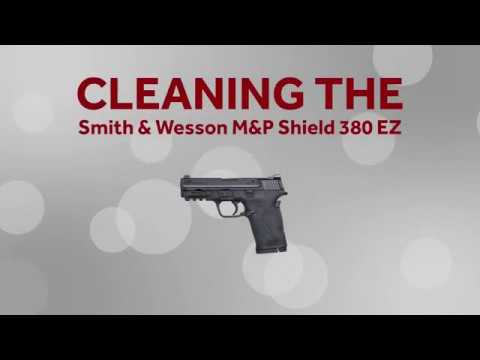Cleaning the Smith Wesson MP Shield 380 EZ - Bill's Gun Shop & Range