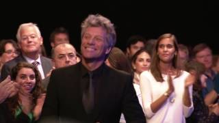 Jon Bon Jovi Accepts 2016 Clinton Global Citizen Award
