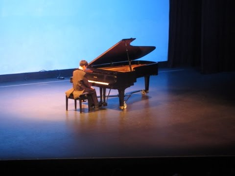 Mozart ~ Sonata K.331 - 1 Mvt.; Vincent Yang