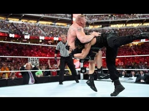 Wwe ROMAN Reigns vs brock Lesnar HELL in CELL MATCH wwe fight