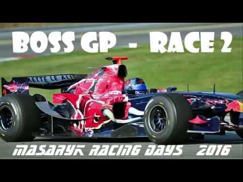 BOSS GP - Race 2 - Masaryk Racing Days Brno 2016 - Pure Sound F1