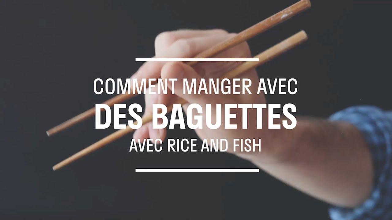Comment manger avec baguettes youtube - Comment tenir des baguettes chinoises ...