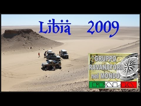 LIBYAN DESERT 2009-Wau an Namus volcan & More