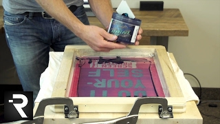 How To Screen Print W/ The Diy Hinge Press Without Using Screws