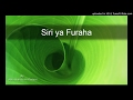 Download Siri ya Furaha MP3 song and Music Video