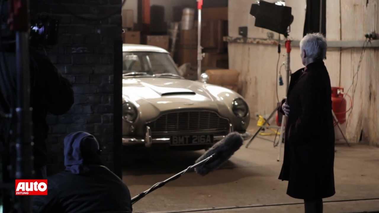 James Bond Skyfall Aston Martin