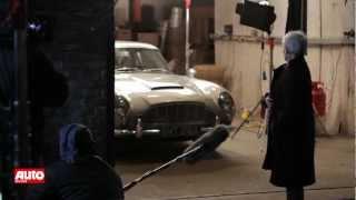 James Bond Skyfall 2012 Aston Martin Db5 Bei Den Dreharbeiten Youtube