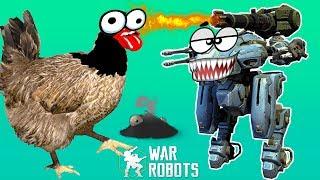 ВОЙНА РОБОТОВ #2 видео для детей про сражения роботов ДЕНЬ ПОБЕДЫ игра про роботов War Robots FGTV