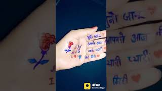 I love jaanu fingers status|||by B4U Live