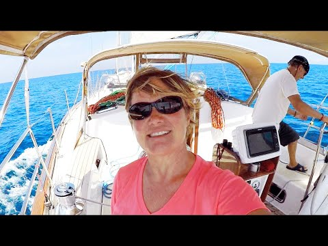 Argon Sailing Offshore Bahamas to Beaufort, North Carolina - we AReGONe!